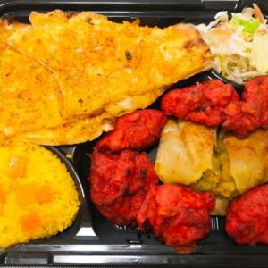 インド料理〈Indigo〉オニオンナンのスペシャル弁当@銀閣寺