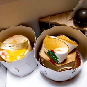 〈Pâtisserie TATSUHITO SATOI〉クリスマスケーキ3種@北白川