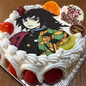 我が家にも鬼滅の波が来てますよ~お誕生日キャラケーキで親の方が大興奮!!