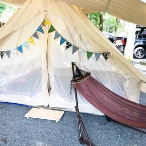 夏テントならニュートラルアウトドアLG4.0!設営も楽ちん簡単!!二代目三代目テントにもおすすめです♪