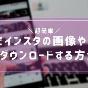 【超簡単】PCでインスタの画像や動画をダウンロードする方法