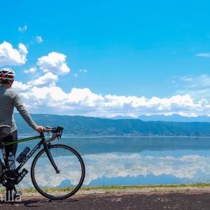自己最長記録!200kmのロングライドで諏訪湖へ行ってきましたよ