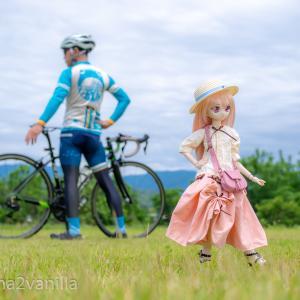 チョー久々!ロードバイクとドールを撮ってきました!!(*´∀`*)