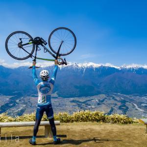 #無事カエルジャージ を着て #ゆるキャン の聖地 #陣馬形山 へヒルクライム!!血糖値をコントロールしたらだいぶ楽になったかも