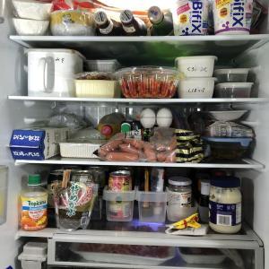 まとめ買いからその後の冷蔵庫。