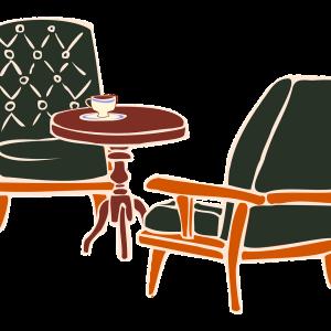 居酒屋さんとカフェの椅子のちがいを痛感!