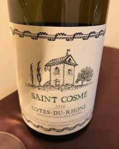 2000円台おすすめ白ワイン ローヌのシャトー・ド・サンコム