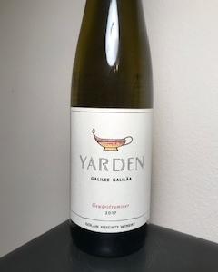ヤルデンの白ワイン ゲヴェルツトラミネールは香り高く高貴な味
