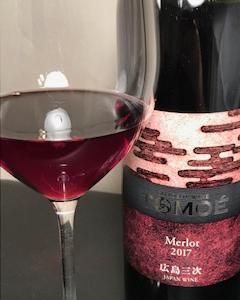 日本ワインおすすめ広島三次ワイナリー TOMOEメルロー