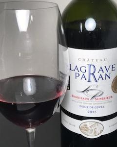 フィラディス赤ワイン ボルドーのシャトー・ラグラーヴ・パラン