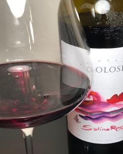 シチリアワインおすすめ エレガントなコローシ・サリーナ・ロッソ