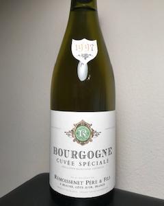 ルモワスネのブルゴーニュブラン1997 20年熟成白ワイン