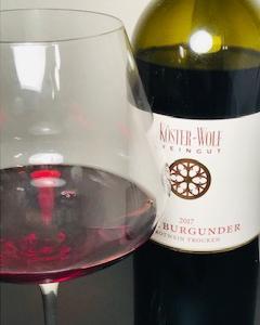 1000円台ワイン ケスターヴォルフのシュペートブルグンダー