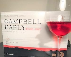 都農ワインのキャンベルアーリー・ドライロゼ 3Lボックス!