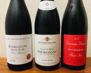 おすすめワインセット タカムラの『ブルゴーニュ赤3本セット』