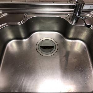 キッチンのシンクの水垢どう落とすの?