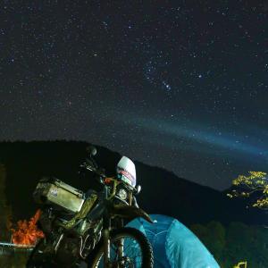 【和歌山】川湯野営場の星空