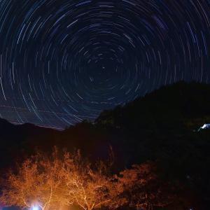 【奈良県】つり橋の里キャンプ場の星空2