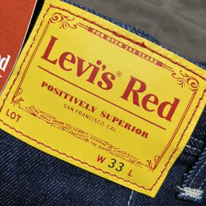 【Levi's Red】待望のリーバイス レッドが発売!先行予約で手に入れました(*´з`)