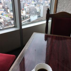 最上階の喫茶店