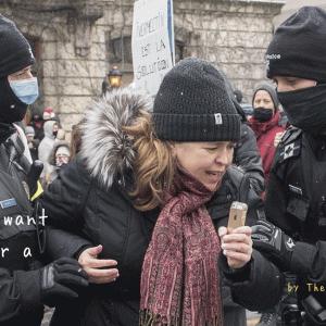 マスク着用反対運動