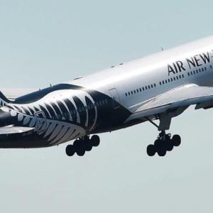 世界No.1のNZ航空でニュージーランドへ!