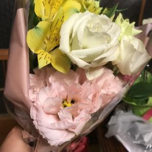 嬉しいお花のプレゼント①