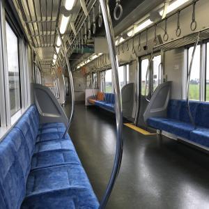 電車で朝帰り😄