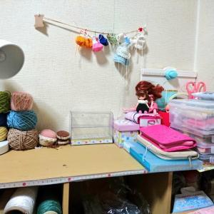 毛糸の収納(ではない……)