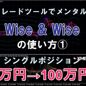 裁量トレードツール「Wise & Wise」の使い方①