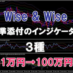 「Wise & Wise」に標準添付のインジケーター