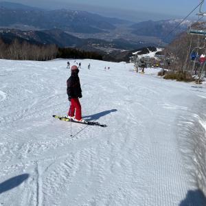 息子氏のスキースキルについて