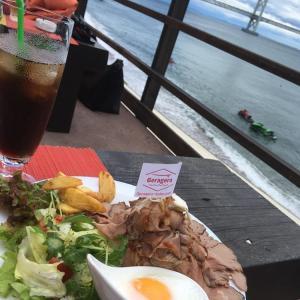 明石大蔵谷海岸付近で子連れランチディナーのお勧め「ゲラゲラハウス」