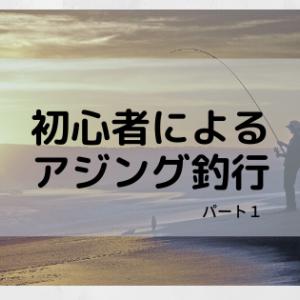 初心者によるアジング釣行記