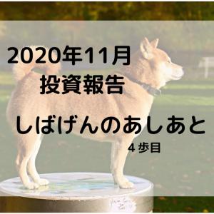 【2020年11月 資産運用報告】しばげんの足あと【4歩目】