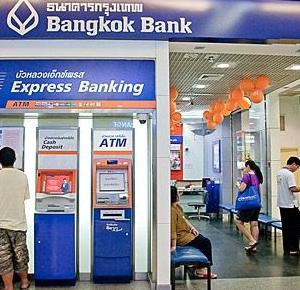 タイ市中銀行での現金両替は出来ませんでした
