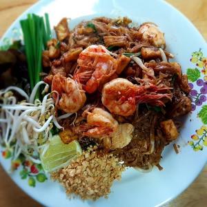 【パッタイ】即席なのに本場タイの味-自宅で簡単/作り方解説付