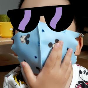 ありがとう!!!ミッキーの夏用マスク