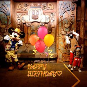 HAPPYBIRTHDAY!Mickey♡♡♡
