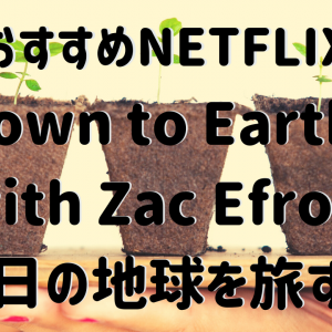 Down to Earth with Zac Efron〜明日の地球を旅する〜【おすすめNETFLIX】