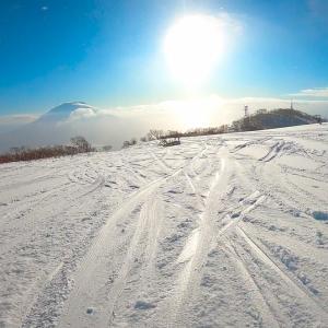 北海道ニセコの積雪状況/雪不足は解消されたか?1カ月予想は2月前半に寒気がやってくる