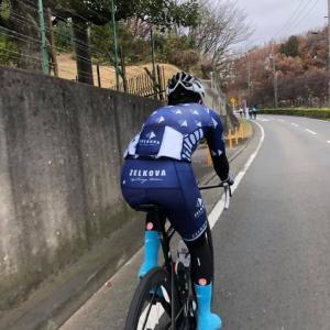 【ロードバイク】 トレーニング レポート_20191221(小山田周回)
