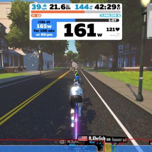 【ロードバイク】 トレーニング レポート_20191223
