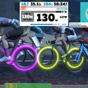 【ロードバイク】Zwiftでミートアップに参加してみた_20200407