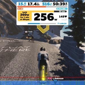 【ロードバイク】Zwiftインターバルトレーニングを開始した10日目_20200420