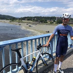 【ロードバイク】牧馬峠&相模川でのトレーニング_20200620