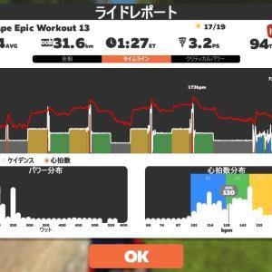 【ロードバイク】久しぶりにZwiftトレーニングを行った_20200912