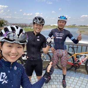 【ロードバイク】tom's cyclingと宮ヶ瀬トレーニング_20210403