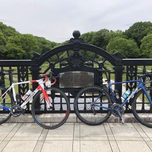 【ロードバイク】クロスコーヒーと脳筋オレンジ_20210428