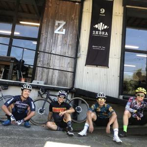 【ロードバイク】tom's cyclingさん達と雛鶴峠ライド_20210717